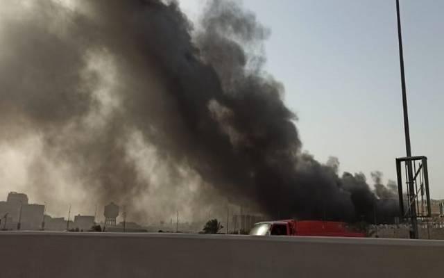 """النائب العام المصري يأمر بالتحقيق في حريق خط """"شقير – مسطرد"""" البترولي"""