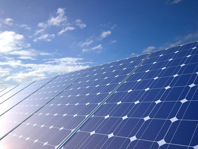 The project includes the installation of 4,500 solar panels