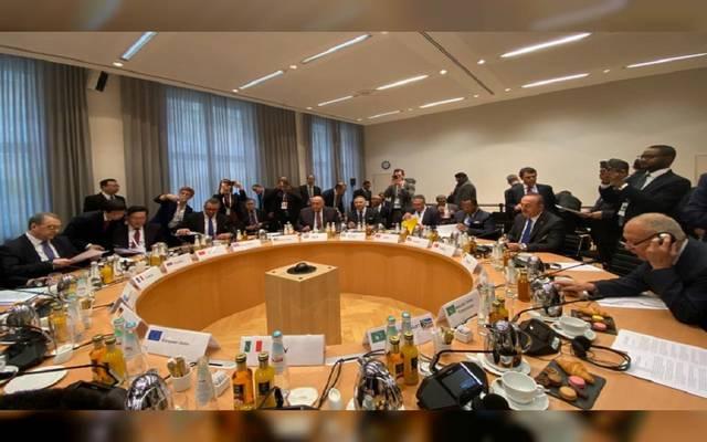 جانب من الاجتماع بشان ليبيا في ميونيخ
