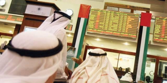 متعاملون بسوق دبي المالي