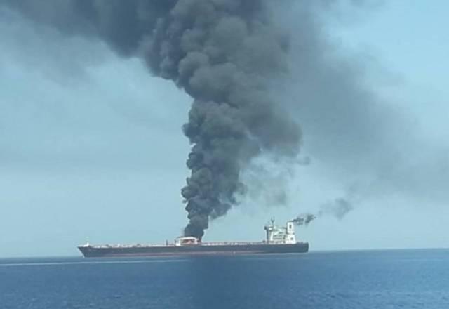 انفجارات خليج عمان.. تسلسل زمني