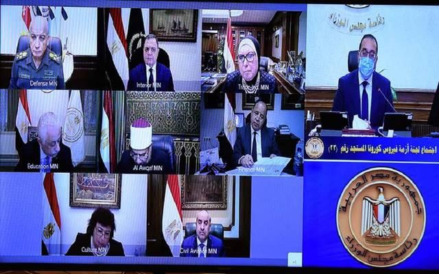 """خلال اجتماع اللجنة العليا لإدارة أزمة فيروس """"كورونا"""""""