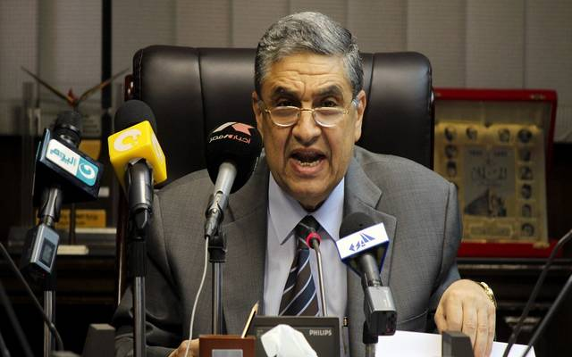 وزير الكهرباء والطاقة المتجددة المصري محمد شاكر - أرشيفية