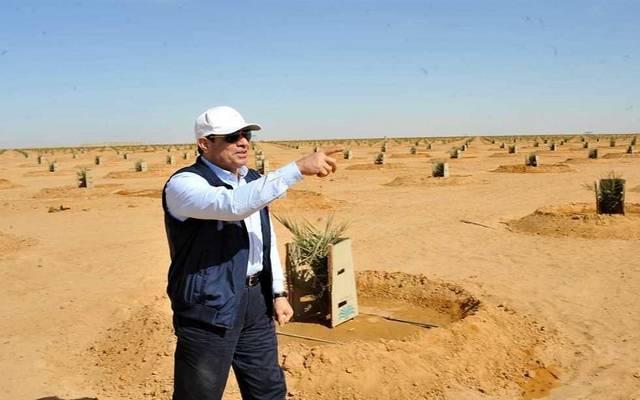 الرئيس السيسي يتفقد مشروعات توشكى التنموية.. فجراً