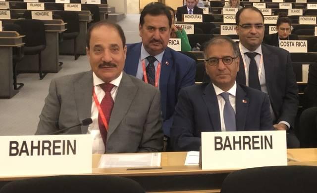 بالصور.. وزير العمل البحريني يشارك بمؤتمر العمل الدولي