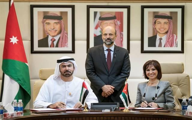 توقيع اتفاقية التعاون بين الإمارت والأردن