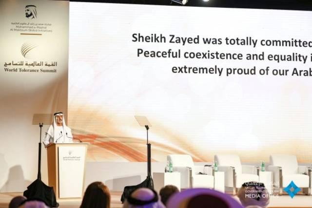 دبي تحتضن القمة العالمية للتسامح نوفمبر المقبل