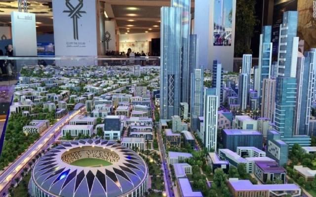 نموذج للعاصمة الإدارية الجديدة بمصر