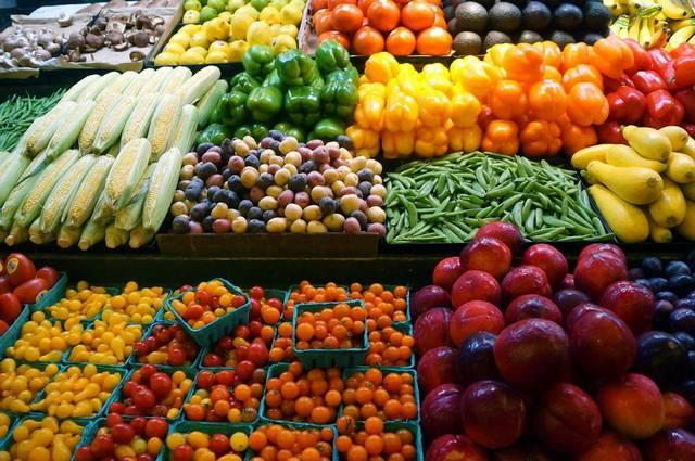 خضروات وفاكهة