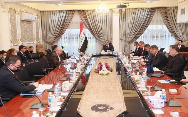 رئيس شركة النفط الوطنية العراقية، وزير النفط، يترأس اجتماعاً لمجلس إدارة الشركة