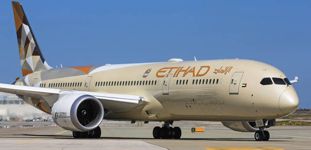 Etihad's target may be achieved through internal initiatives