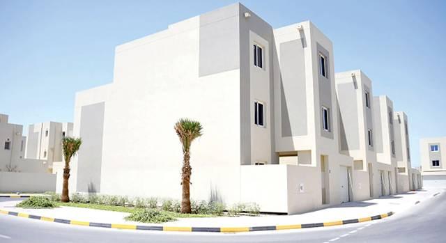 صورة أرشيفية لوحدات سكنية في البحرين