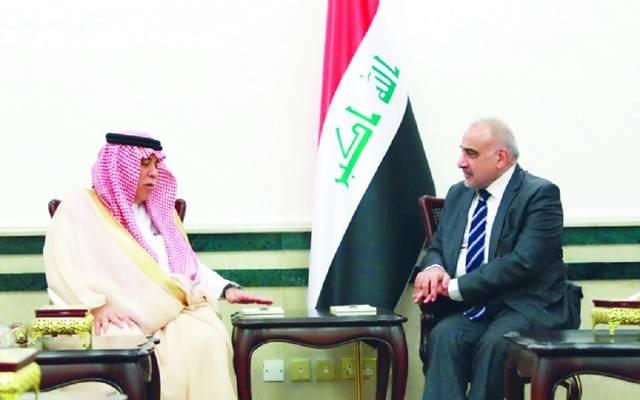 رئيس الحكومة العراقية يستقبل وزير التجارة والاستثمار السعودي في بغداد ـ أرشيفية