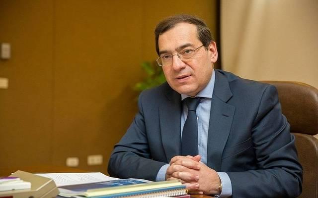 Egypt's petroleum minister Tarek El-Molla