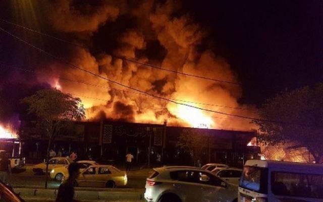 حريق بأحد المصانع ـ أرشيفية