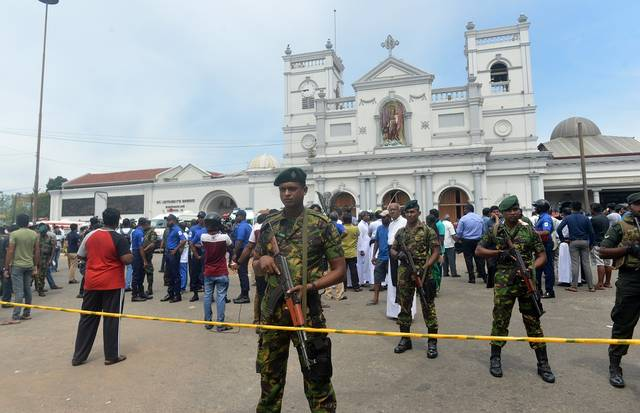 Sri Lanka imposes curfew as eight blasts coincide Easter Sunday