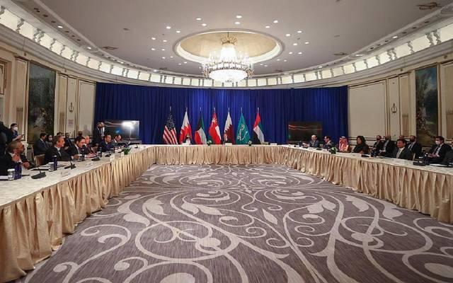 الاجتماع الوزاري بين ترويكا دول مجلس التعاون لدول الخليج العربية