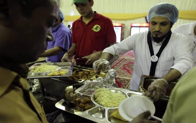 أحد المطاعم بالسعودية