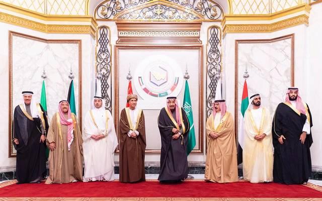 على هامش قمة دول مجلس التعاون الخليجي الـ40 التي عقدت بالرياض اليوم الثلاثاء 10 ديسمبر/ كانون الأول