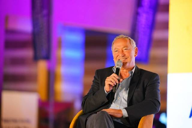 Samih Sawiris as a speaker at RiseUp Summit 2019