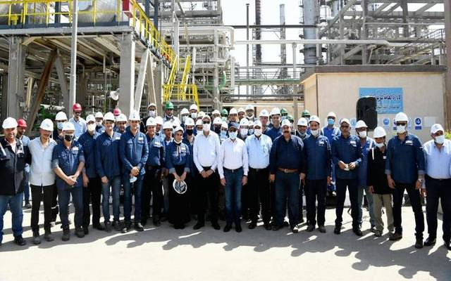 Minister of Petroleum Tarek El-Molla visited several projects in Alexandria
