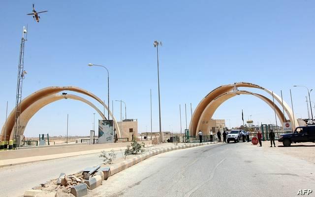 منفذ على حدود العراق