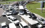 سيارات أحد الطرق الرئيسية بإمارة دبي