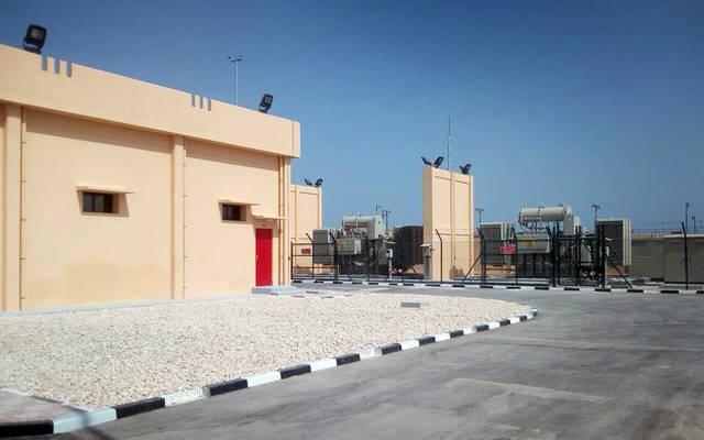 المولدات داخل شركة ظفار لتوليد الكهرباء