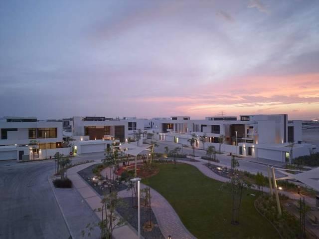 أحد المشاريع السكنية بإمارة أبوظبي