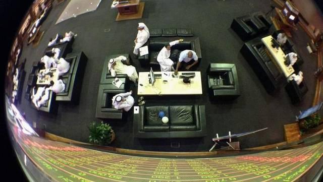 صورة أرشيفية من داخل مقر بورصة دبي