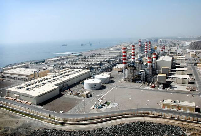 """محطة تابعة لشركة """"أبوظبي الوطنية للطاقة"""""""