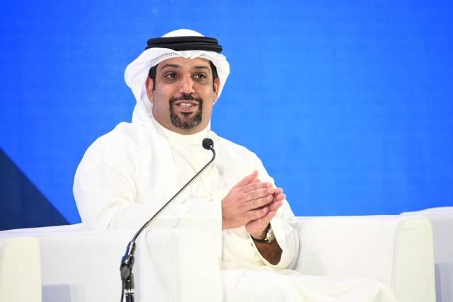 وزير المالية البحريني الشيخ سلمان بن خليفة خلال مؤتمر القطاع المالي في السعودية