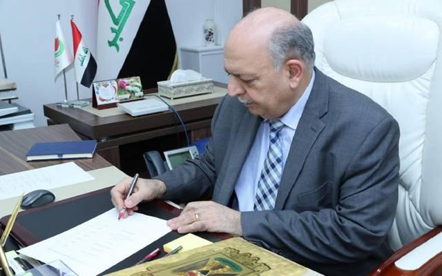 نائب رئيس الوزراء لشؤون الطاقة وزير النفط، ثامر عباس الغضبان- أرشيفية