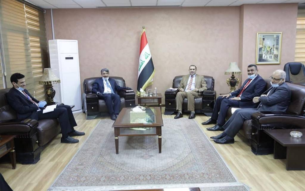 Iraq's Minister of Finance visits Kuwait for talks on economic cooperation, investment 1024