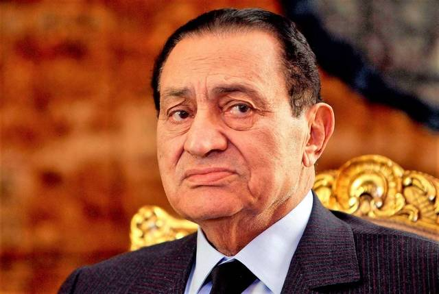 محمد حسنى مبارك الرئيس الأسبق لمصر