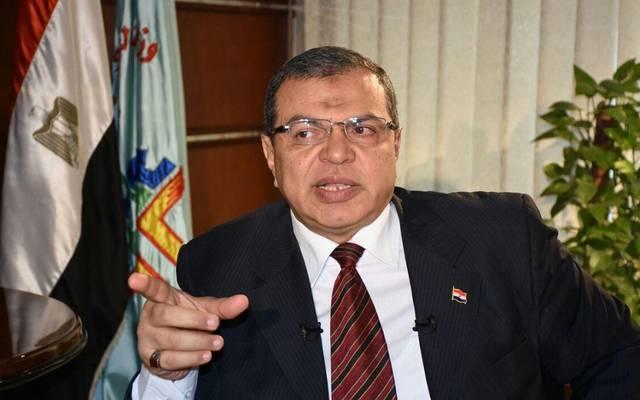 وزير القوى العاملة المصري محمد سعفان