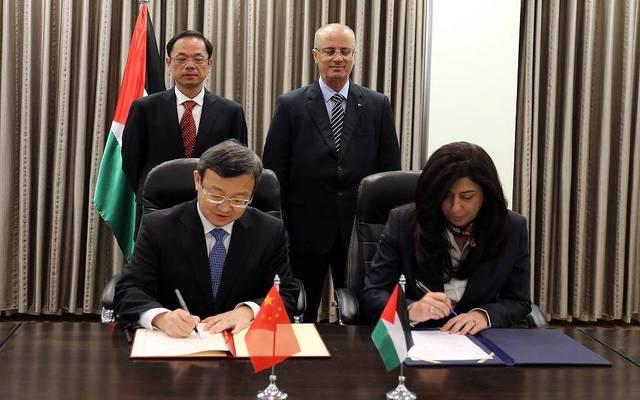 خلال توقيع مذكرة التفاهم بين البلدين في نهاية نوفمبر 2017