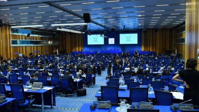 جانب من المؤتمر للعام الثالث والستين للوكالة الدولية للطاقة الذرية في النمسا