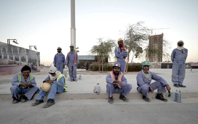 العاملين بقطر