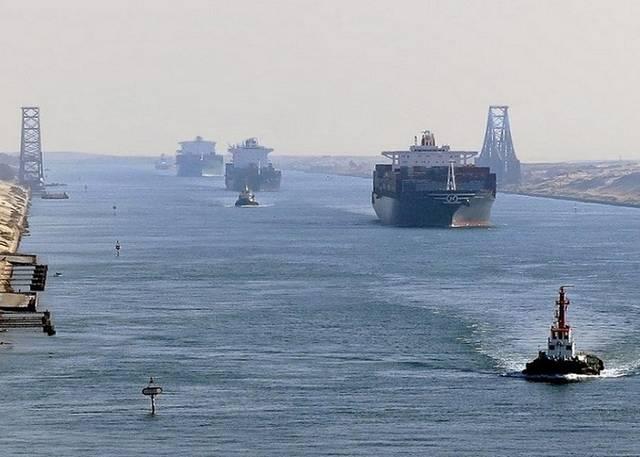 """أكبرها سفينة الحاويات الدانمركية """"ميلان ميرسك"""""""