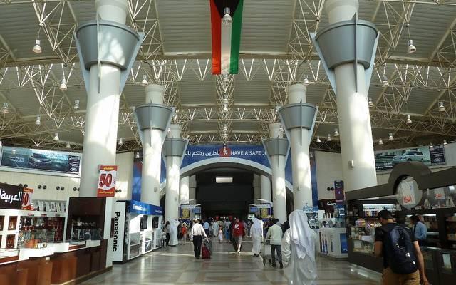 داخل مطار الكويت الدولي