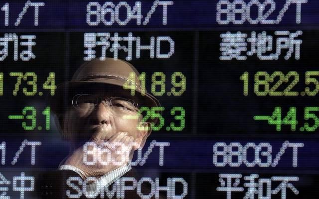 الأسهم اليابانية تتراجع بالختام مع إعلان بيانات اقتصادية