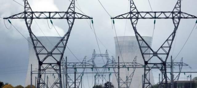 محطة كهرباء - أرشيفية