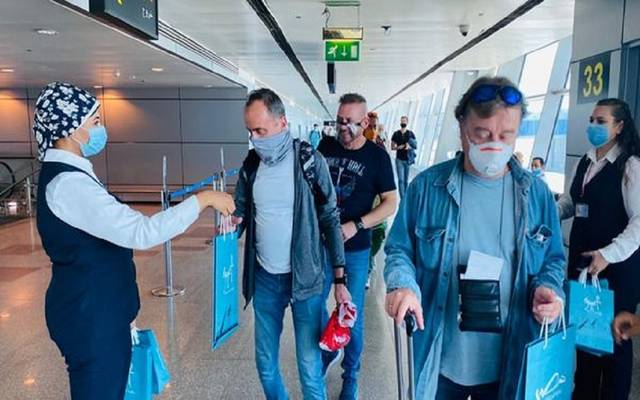 استقبال المسافرين في مطار شرم الشيخ