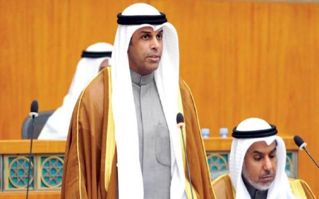 وزير النفط والكهرباء والماء بالوكالة خالد الفاضل