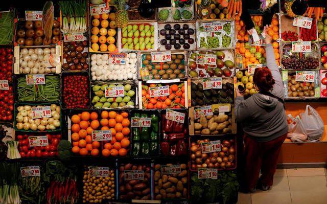 داخل أحد أسواق الأغذية