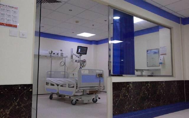 جناح داخل مستشفى بالمملكة العربية السعودية