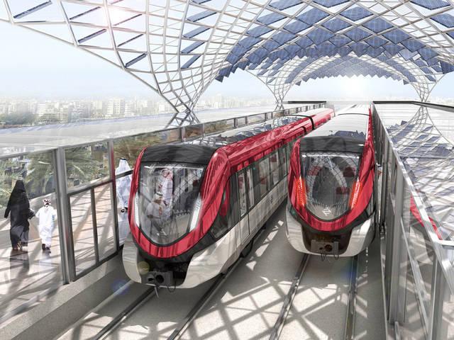 مترو الرياض من أهم وأول تلك المشاريع- الصورة أرشيفية