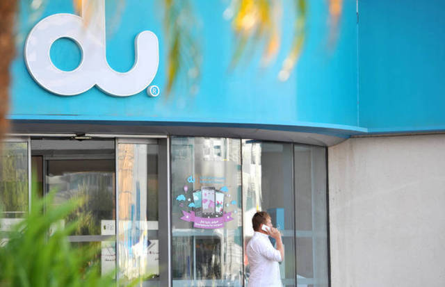 du reported a rise of 0.3% in profits to AED 446.57 million ($121.55 million) in the second quarter of 2017