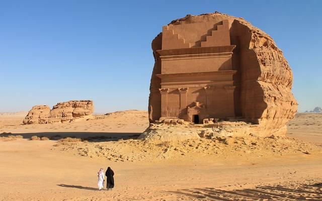 إحدى المناطق السياحية في السعودية